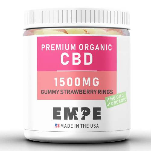 Cbd Gummy Strawberry Rings