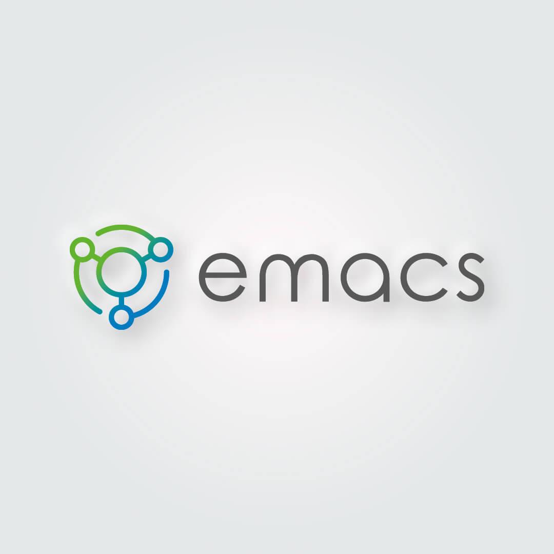 Emacs Logo oraz księga znaku Emacs wykonana dla firmy Electrum Sp. z o.o.