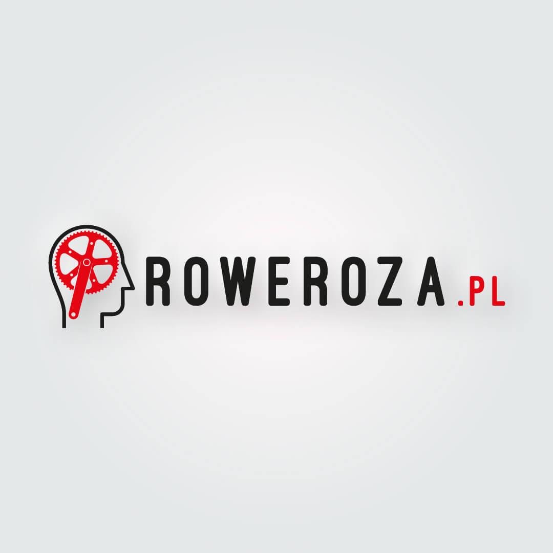 Roweroza.pl Logo przygotowane dla rowerowego sklepu internetowego.