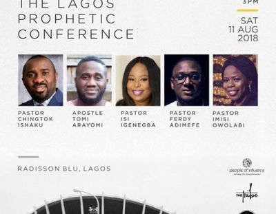 #Prophetiquette: #Event: Highlights from the Lagos Prophetic Conference