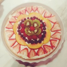 My spin on a childhood favorite, Fruit Pizza