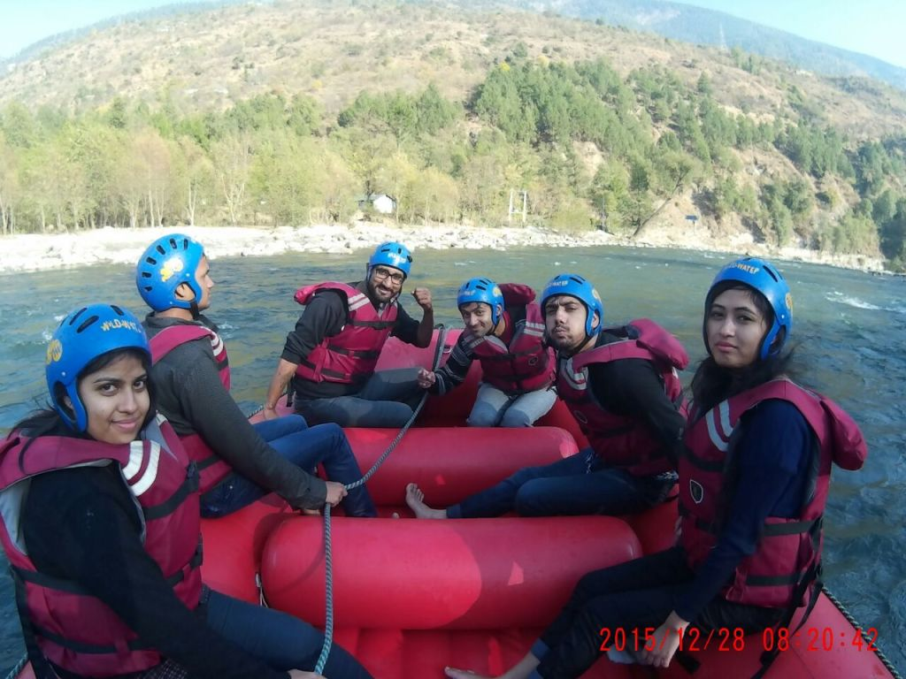 River-Rafting, Kullu