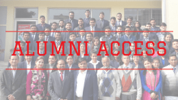 EMPI BUSINESS SCHOOL ALUMNI helps in placement