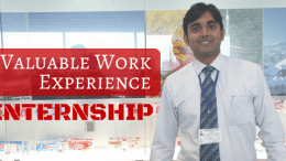 Gain Value Work Experience - Internship