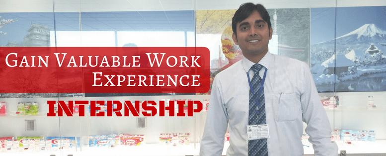 Gain Value Work Experience - Internship