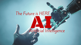 Future is here.. AI (Artificial Intelligence)