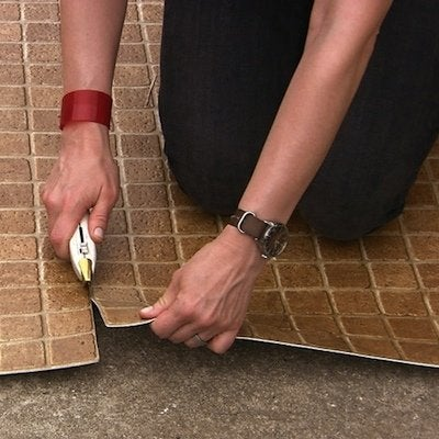 how to cut vinyl flooring bob vila