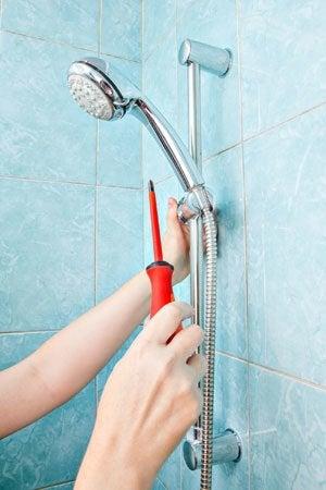 leaking shower head solved bob vila