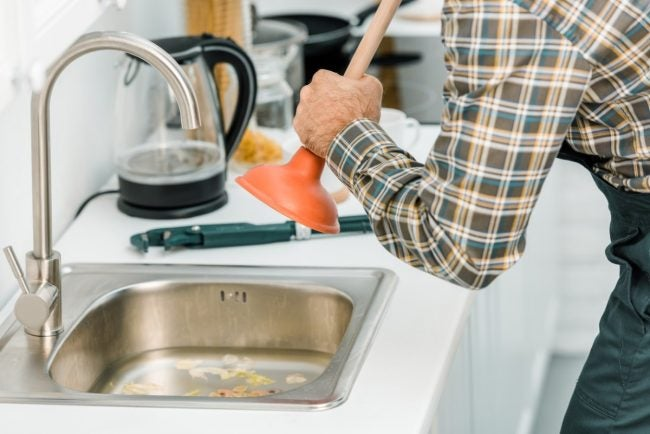 clogged kitchen sink 5 steps to a