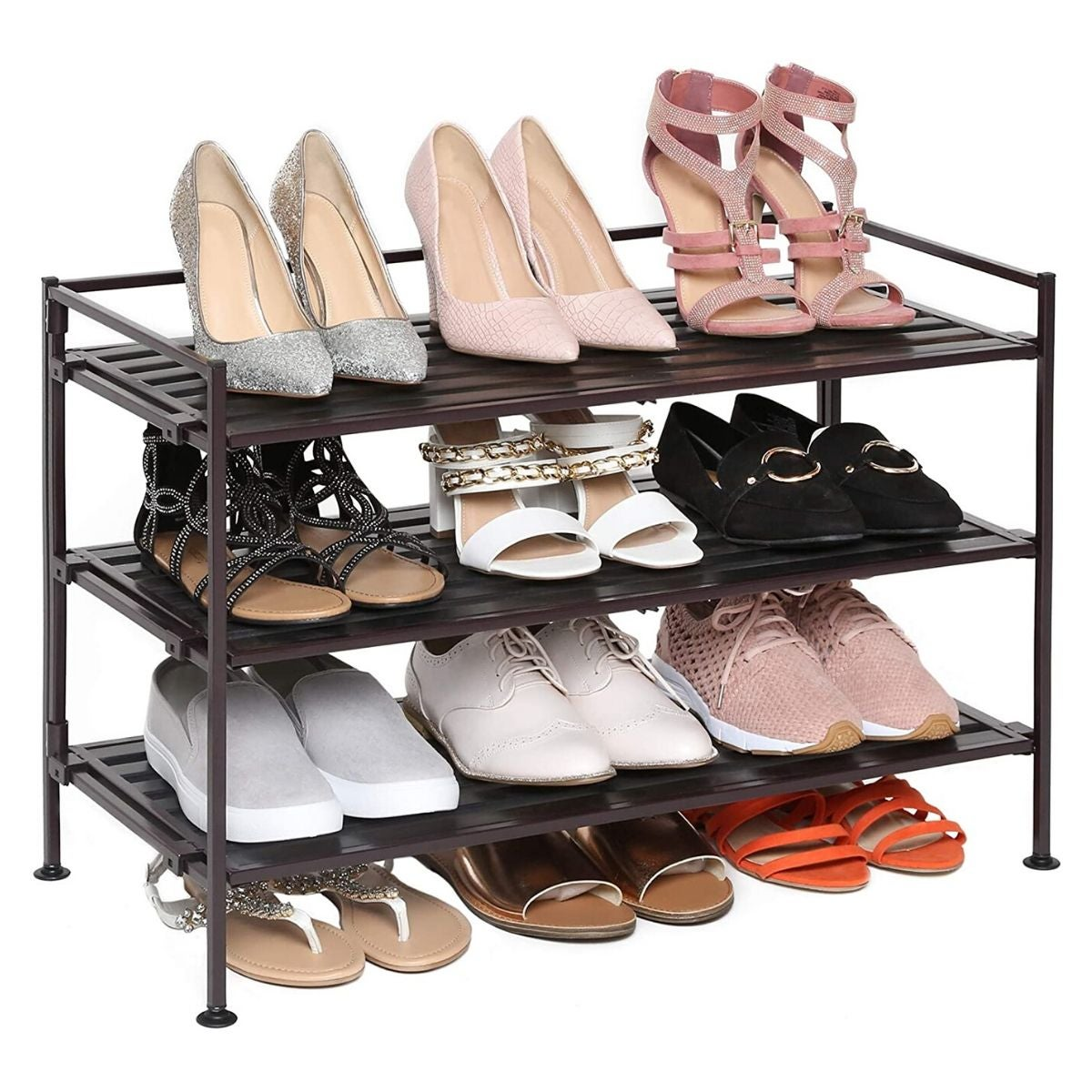 the best shoe racks for entryways and