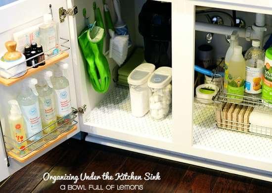 under sink storage ideas to buy or diy