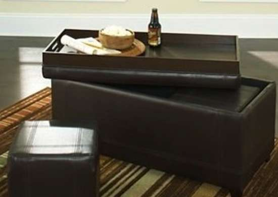 best storage ottomans to clear clutter