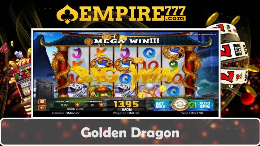 Super Easy Win Slot Ever | Golden Dragon Slot | Asia Online Casino Empire777