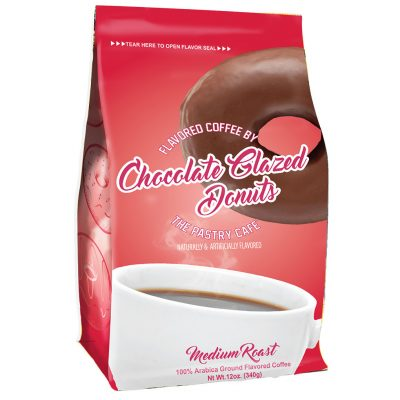 The Pastry Cafe Chocolate Glazed Flavored Coffee
