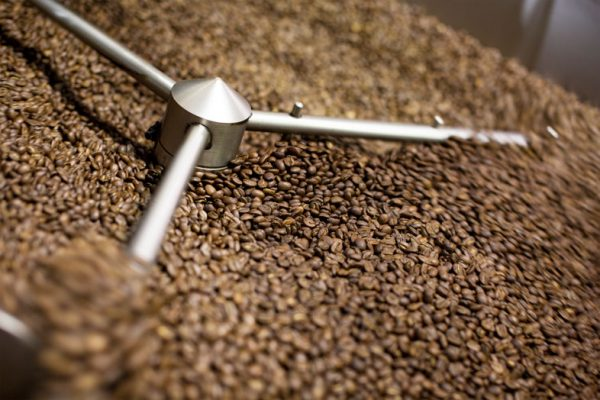 Roasted Coffee Cooling Diedrich Roaster