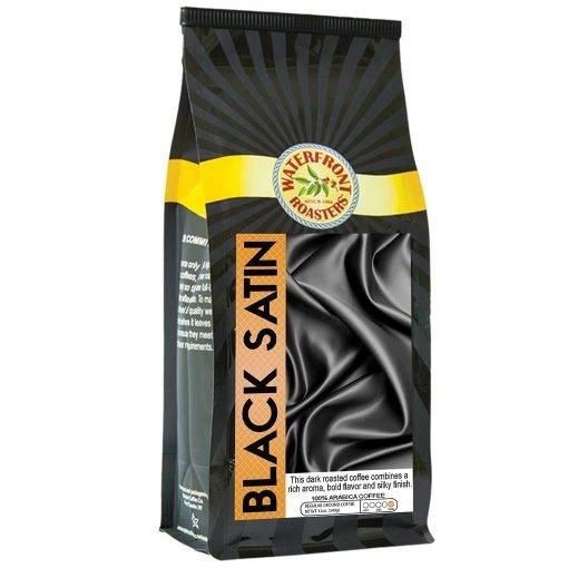 Waterfront Roasters Black Satin Coffee