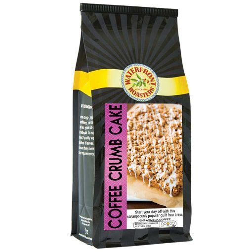 Waterfront Roasters Coffee Crumb Cake Flavored Coffee