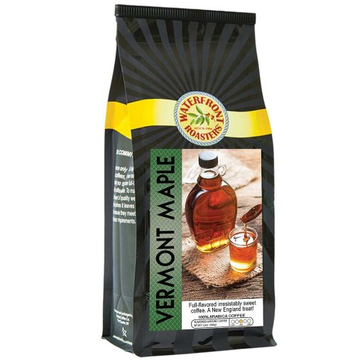 Waterfront Roasters Vermont Maple Flavored Coffee