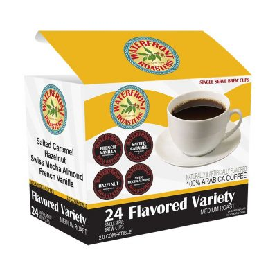 "Do you love variety? We think it's what livens up life. Our Flavored Variety single cup 24 count box come with 6 each of our Salted Caramel, Hazelnut, Swiss Mocha Almond and French Vanilla cups. This is a great way to experience some of our most popular year-around flavors with the least amount of effort. <p><mark>Block <b>""""single-cup-block""""</b> not found</mark></p>"