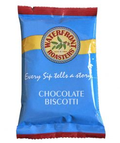 Waterfront Roasters Chocolate Biscotti Portion Packs