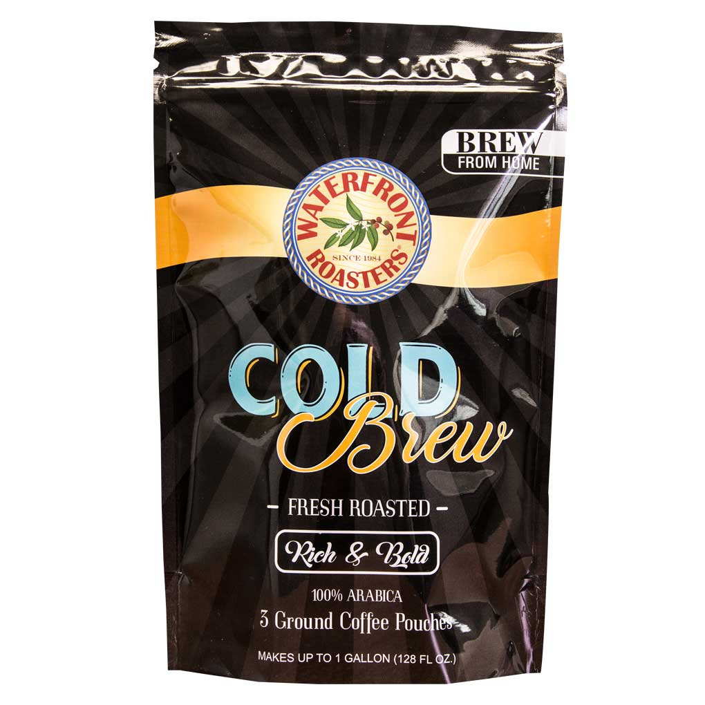 Waterfront Roasters Cold Brew Pouches • Empire Coffee Roasters