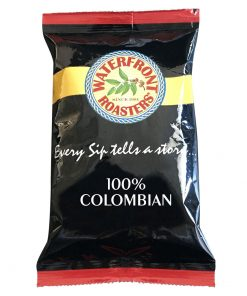 waterfront roasters 100% colombian fractionals