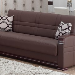 Usa Made Sleeper Sofa Italian Leather In Italy Illinois Bed By Empire Furniture