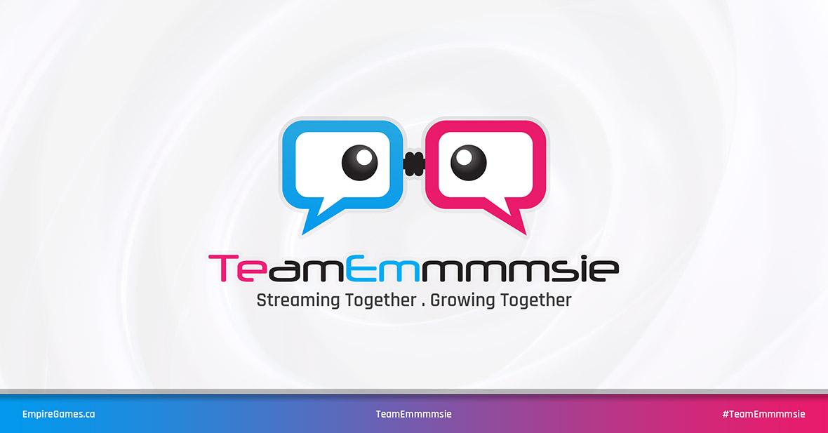 TeamEmmmmsie Logo Update