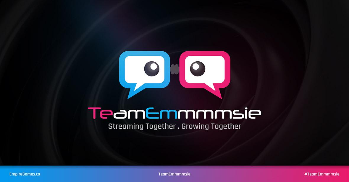 TeamEmmmmsie Logo Update - Dark