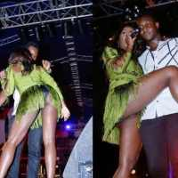 Top 5 embarrassing moments of Tiwa Savage on stage