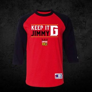 online retailer 007f1 1e7cc Empire Niner Logo Raglan (Red & Black) – Empire Niner
