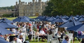 Hire a winnebago RV american motorhome for Burghley Horse Trials