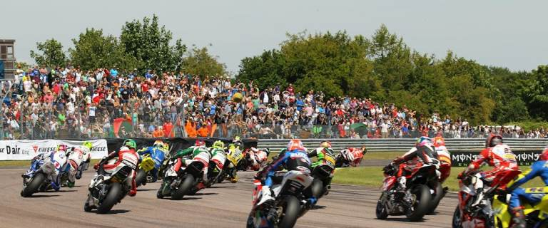 Hire an RV or American motorhome for the BSB British Superbike Championship