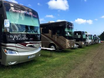 British Superbike Championship Empire RV motorhome hire
