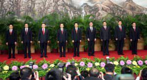 中国共産党政治局常務委員