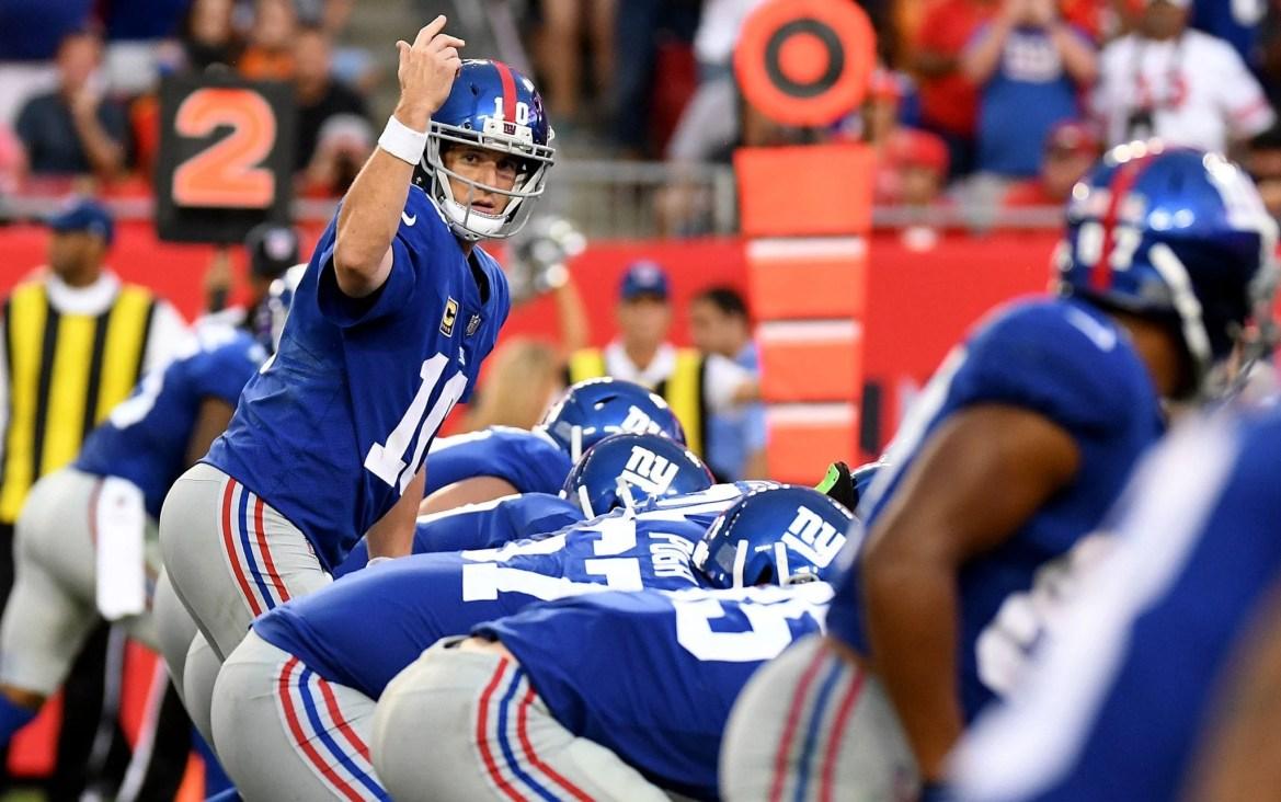 New York Giants, Eli Manning