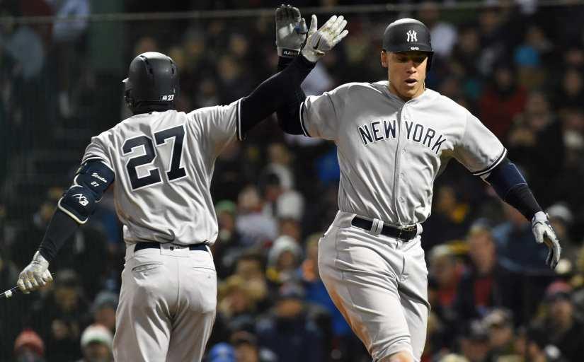 New York Yankees, Aaron Judge, Giancarlo Stanton