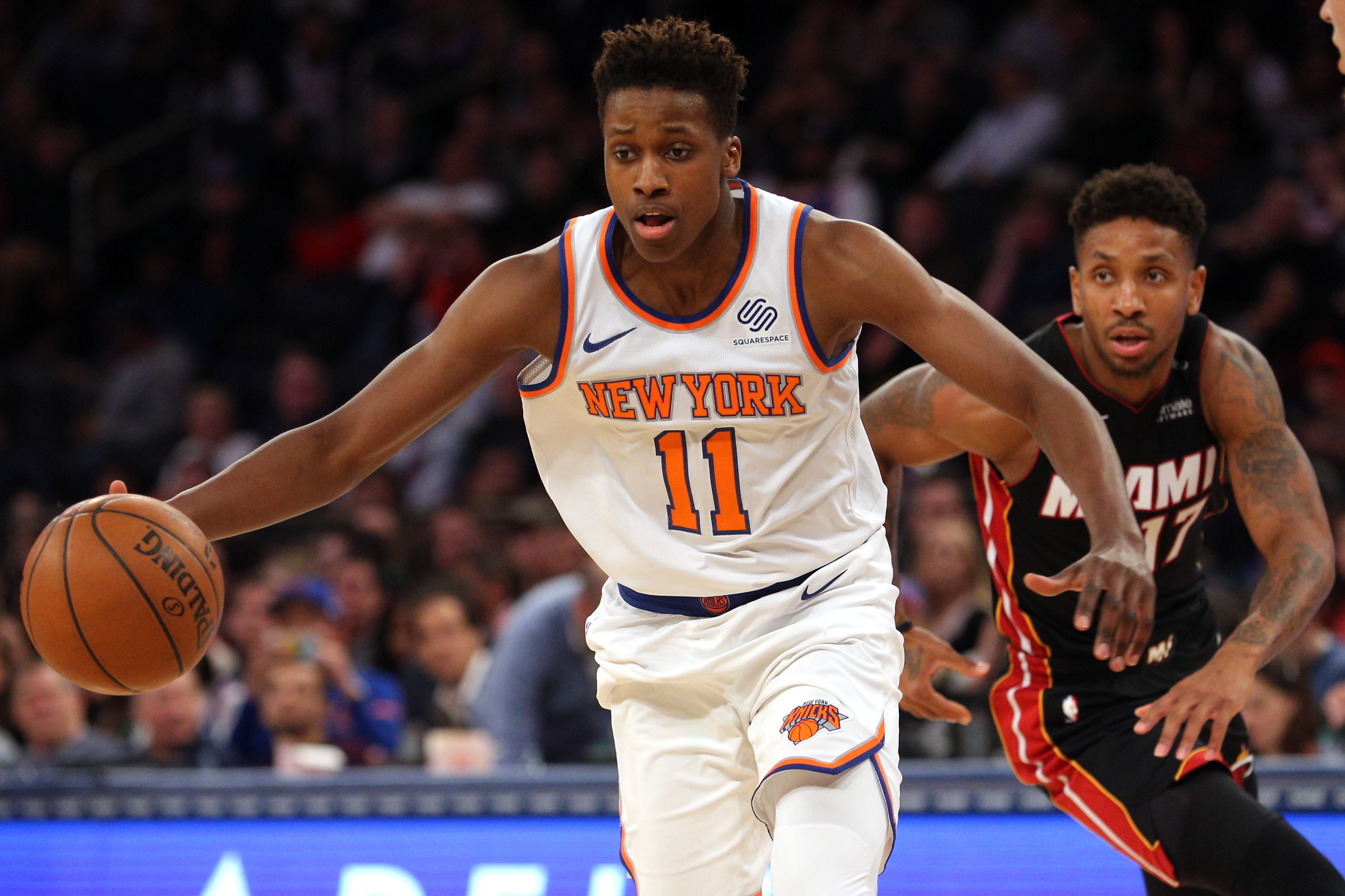c2ce44a28 The Knicks Are Making A Dire Mistake With The Developing Of Frank Ntilikina