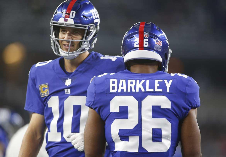 New York Giants, Eli Manning, Saquon Barkley