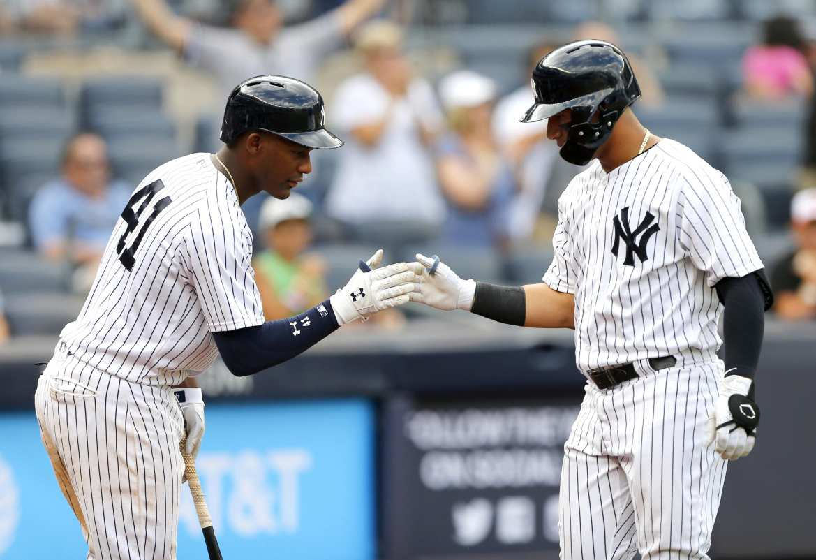 New York Yankees, Gleyber Toress, Miguel Andujar