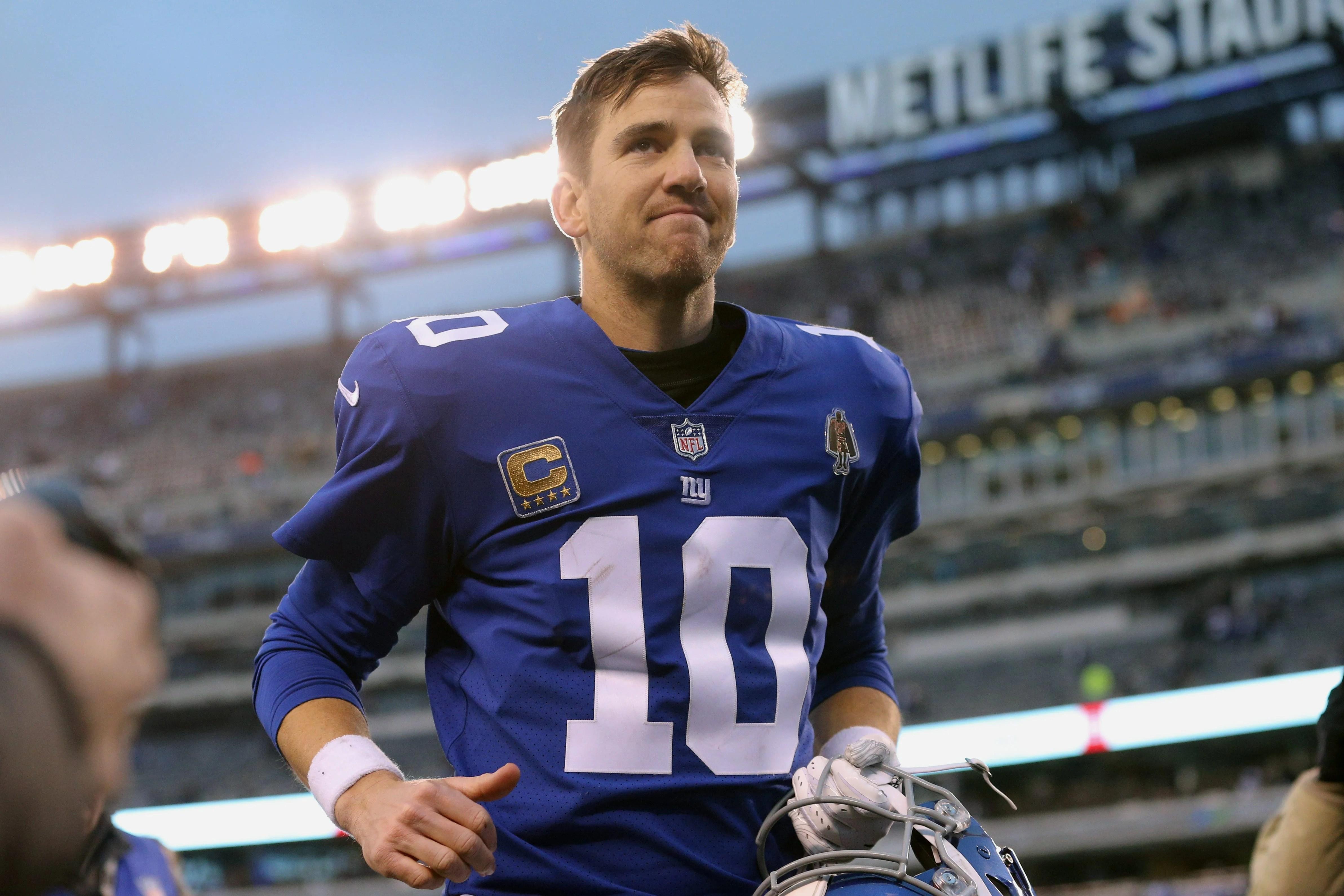 New York Giants quarterback, Eli Manning.