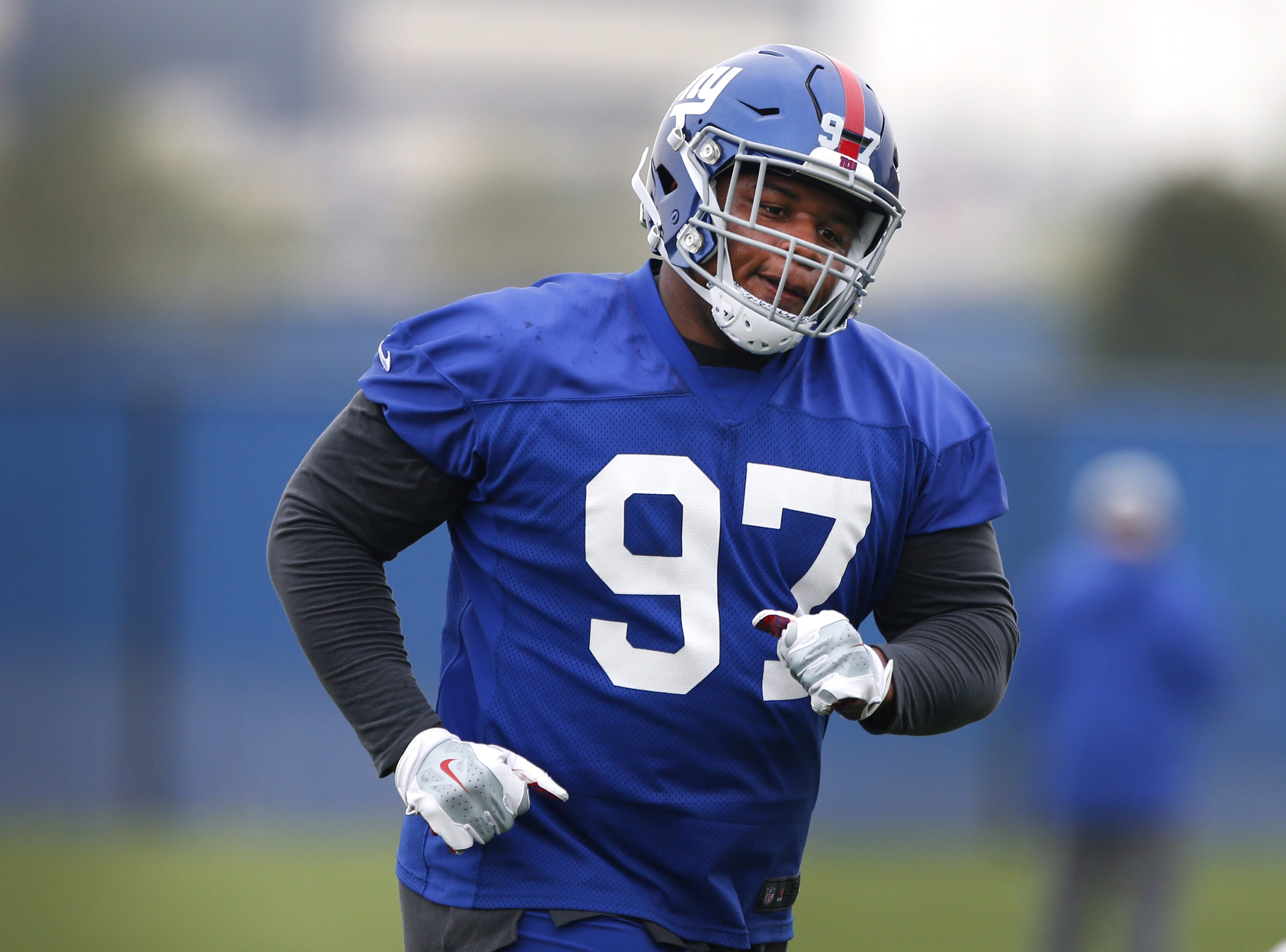 New York Giants defensive lineman, Dexter Lawrence.