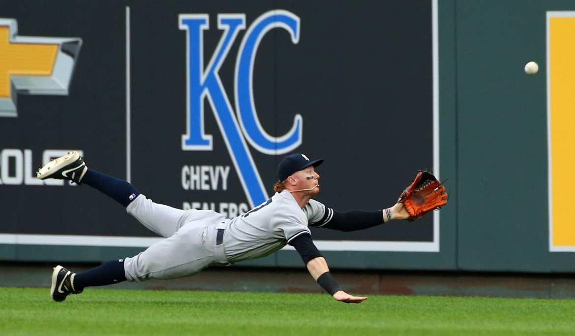 New York Yankees outfielder, Clint Frazier.