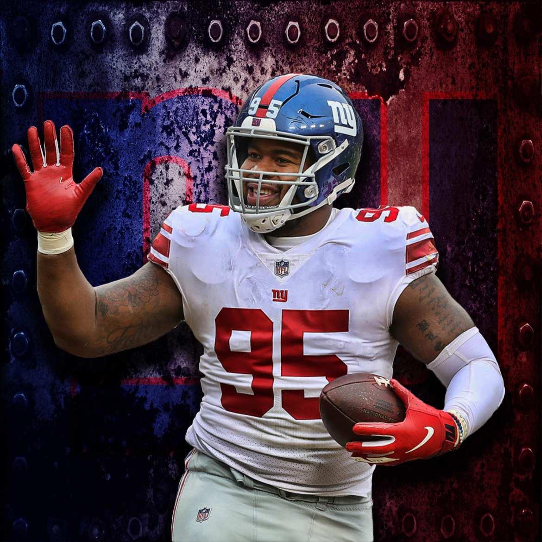 New York Giants, BJ Hill