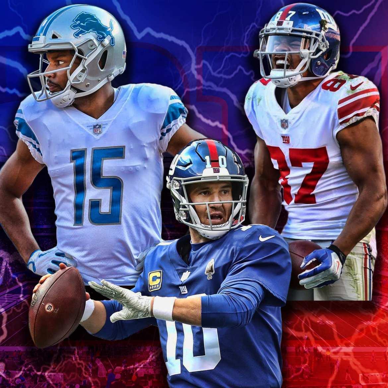 New York Giants, Eli Manning, Golden Tate, Sterling Shepard