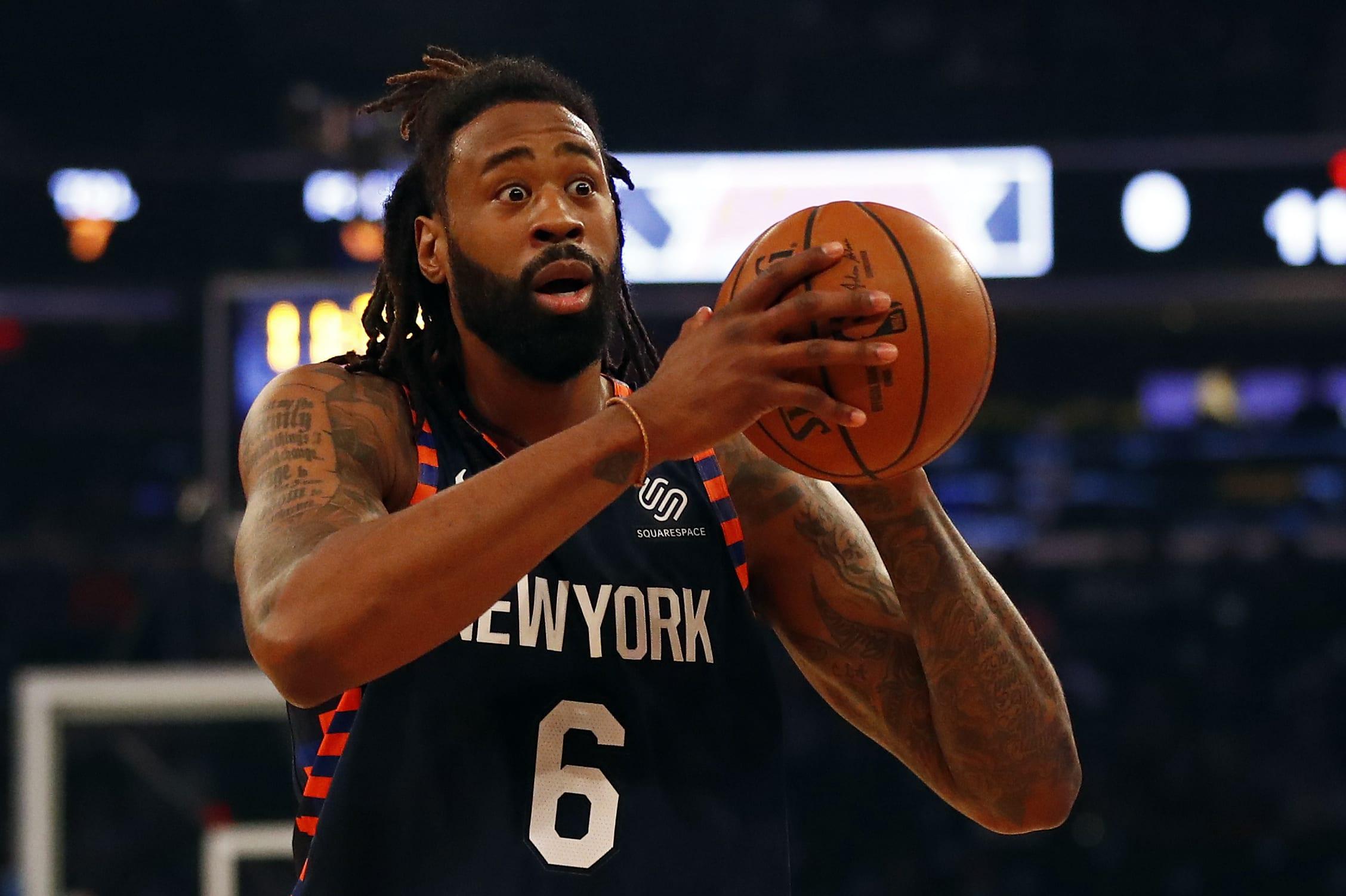 DeAndre Jordan, Brooklyn Nets, New York Knicks, Brooklyn Nets