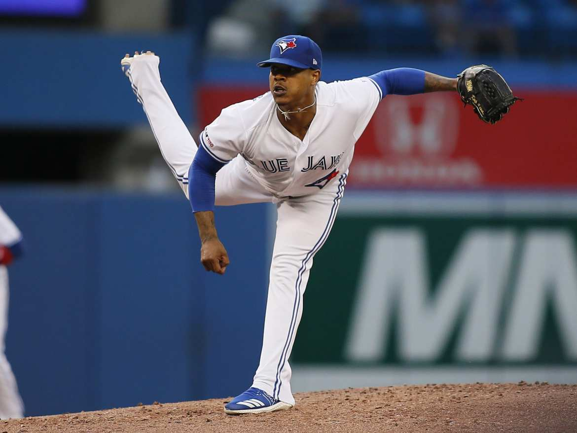 Are the New York Yankees interested in trading for Blue Jays pitcher, Marcus Stroman?