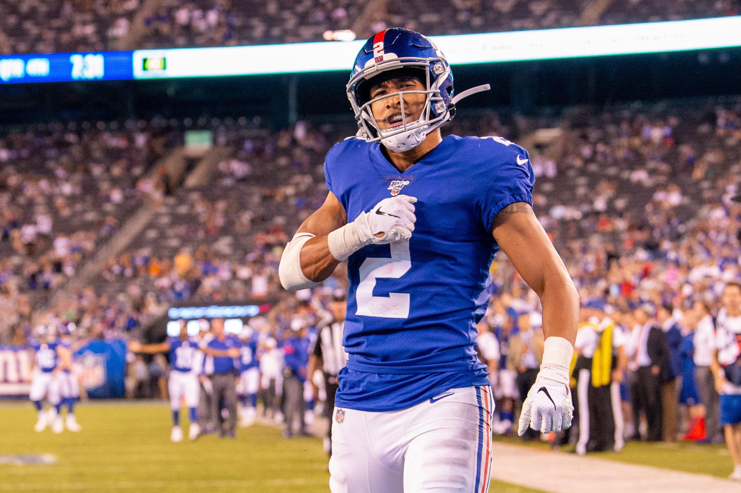 T.J. Jones, New York Giants