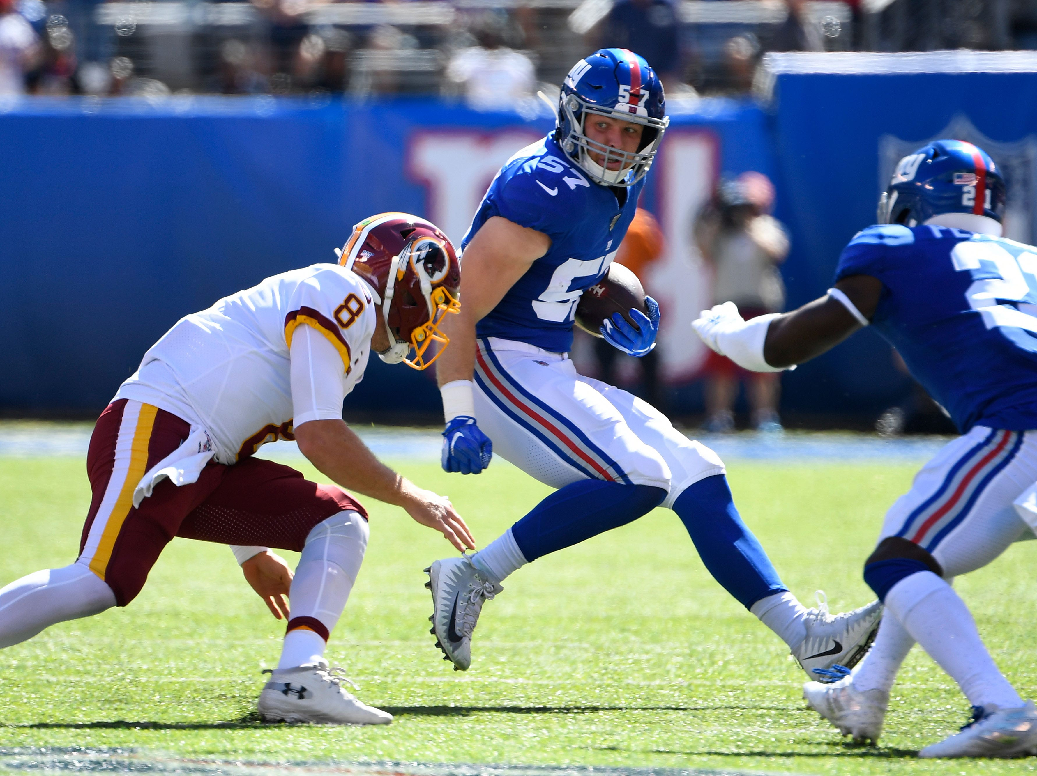 New York Giants, Giants, NYG, Ryan Connelly