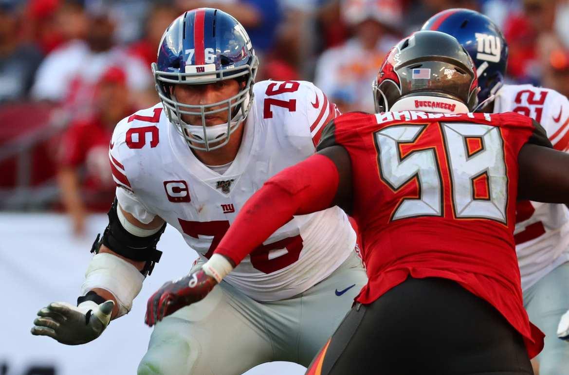 New York Giants, Nate Solder